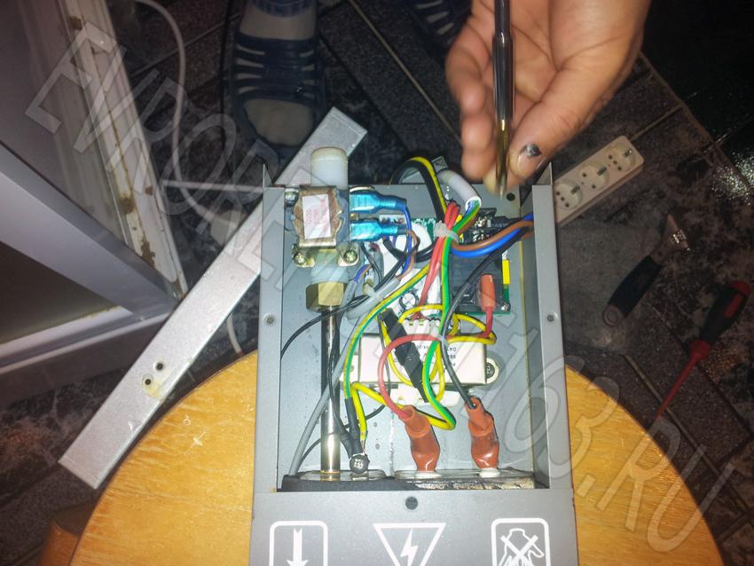 Парогенератор для душевой кабины ремонт своими руками